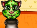 Mchezo Talking Tom. Spa makeover. Kucheza online
